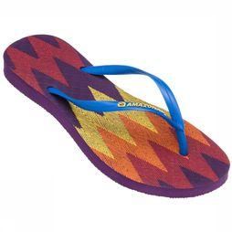 Amazonas Sandals Slipper Enjoy New Missioni Aubergine/Middenblauw
