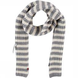 Bickley+Mitchell Scarf 72166-02 Light Grey Mixture/Off White
