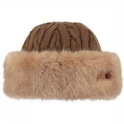 Barts Muts Fur Cable Bandhat Lichtbruin