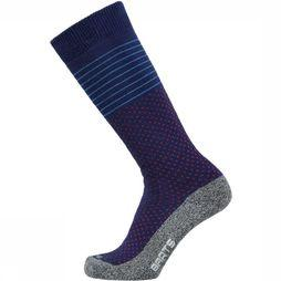 Barts Skisok Stripes & Dots Middenblauw/Assortiment Geometrisch