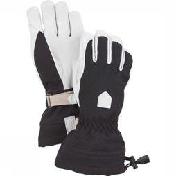 Hestra Want Women's Patrol Gauntlet Zwart/Wit