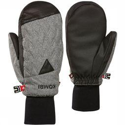 Kombi Mitten La Paradise Dark Grey Mixture/Black