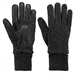 Barts Glove Bhric Gloves Dark Grey Mixture