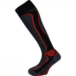 Monnet Ski Sock Wool Ski black/red