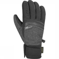 Reusch Glove Reu Bruce Gore-Tex dark grey/black