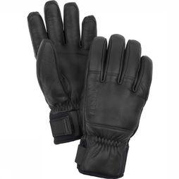 Hestra Handschoen Hes Omni Leather Glove Zwart