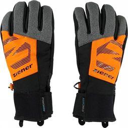 Ziener Glove Lenox black/orange