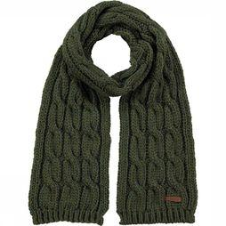 Barts Scarf Cable mid khaki
