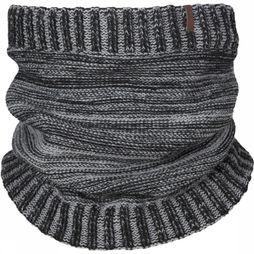 Barts Scarf Rebel Black/Light Grey Mixture