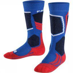 Falke Ski Sock Falke Sk2 mid blue/red