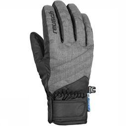 Reusch Glove Dario R-Tex XT Junior Light Grey Mixture/Black