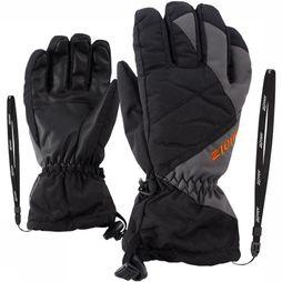 Ziener Glove Agil As Junior black/dark grey