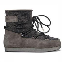 Moon Boot Après Ski Boot Far Side Low Suede Glitter black