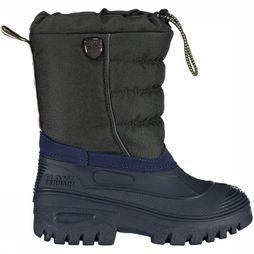 CMP Après Ski Boot Kids Hanki Dark Grey Mixture/Blue
