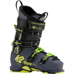 K2 Ski Boot Spyne 100 Sv black/yellow
