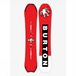 Burton Snowboard Deep Thinker red/white