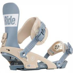 Ride Snowboard Binding Rodeo silver/sand