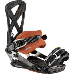 Nitro Snowboard Binding Phantom black/brown