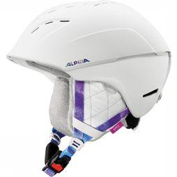 Alpina Ski Helmet Spice off white/light purple