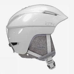 Salomon Casque De Ski Icon Custom Air Blanc
