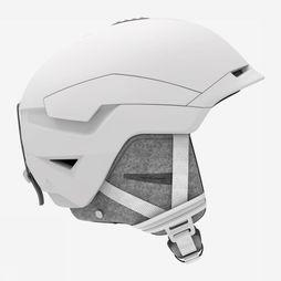 Salomon Casque De Ski Quest Custom Air Women Blanc