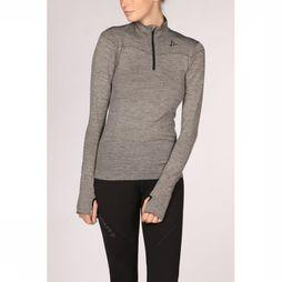 Craft Pullover Fuseknit Comfort Zip W mid grey