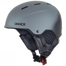 Sinner Ski Helmet Typhoon dark grey
