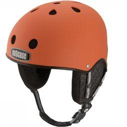 Nutcase Casque de Ski Snow Orange