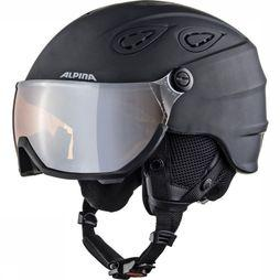 Alpina Casque De Ski Grap Visor Hm Noir/Orange