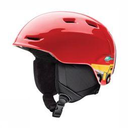 Smith Ski Helmet Zoom mid red/yellow