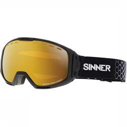 Sinner Ski Goggles Mohawk Sintec/Trans+ dark grey/orange