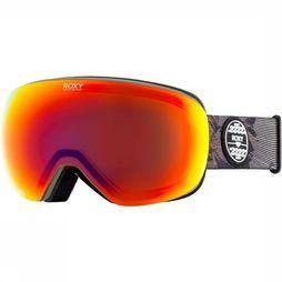 Roxy Ski Goggles Popscreen black/red