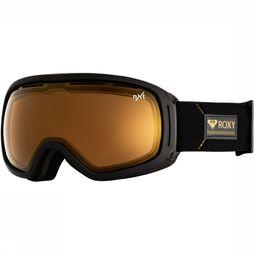 Roxy Ski Goggles Premiere Rockferry black/gold