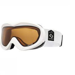 Sinner Ski Goggles Task white/orange
