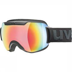 Uvex Ski Goggles Downhill 2000 FM black/Assortment