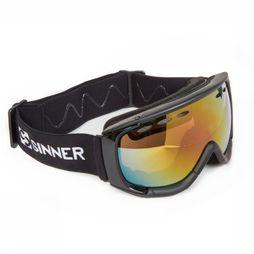 Sinner Ski Goggles Radius black/mid red