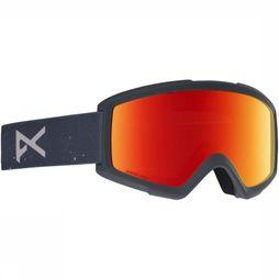 Anon Ski Goggles Helix 2 Sonar With Spare black/red
