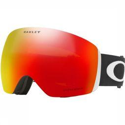 Oakley Skibril Flight Deck Zwart/Rood