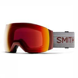Smith Ski Goggles I/O Mag Xl dark red/red