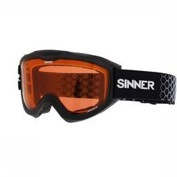 Sinner Skibril Lakeridge Zwart/Oranje