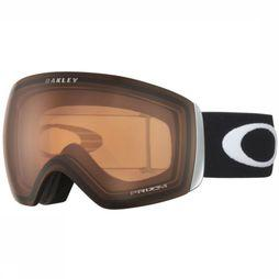 Oakley Skibril Flight Deck Zwart/Middenroze