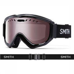 Smith Ski Goggles Knowledge OTG black/silver