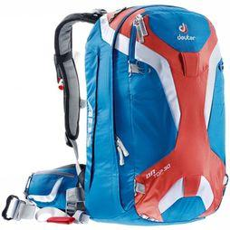 Deuter Protection Ontop Abs 30 mid blue/red