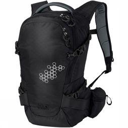 Jack Wolfskin Backpack White Rock 16 Pro black