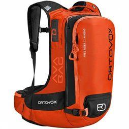 Ortovox Snow Safety Free Rider 22 Avabag orange