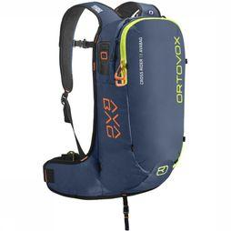 Ortovox Snow Safety Cross Rider 18 Avabag Marineblauw/Lime