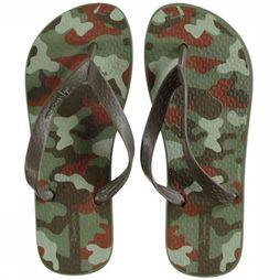 Ipanema Flip Flop Classic green/Assortment Camouflage