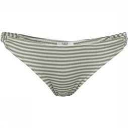 Yaya Slip Strappy Striped Gebroken Wit/Middenkaki