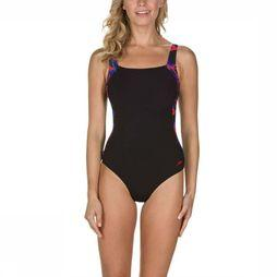 Speedo Bathing Suit Sculpture Luna Lustre black/red