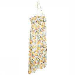 Esprit Dress Panama Beach Long Tube Dress yellow/off white